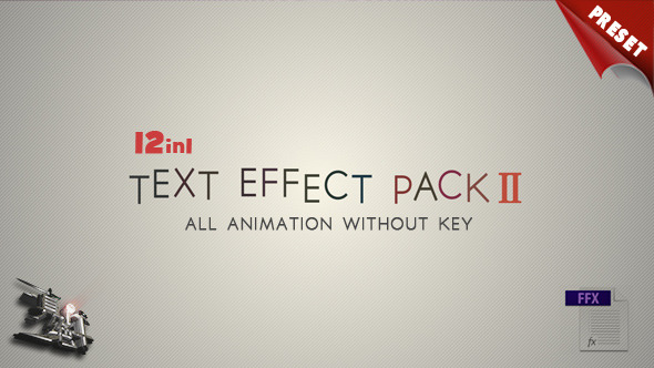 VideoHive Text FX Pack II 3480200