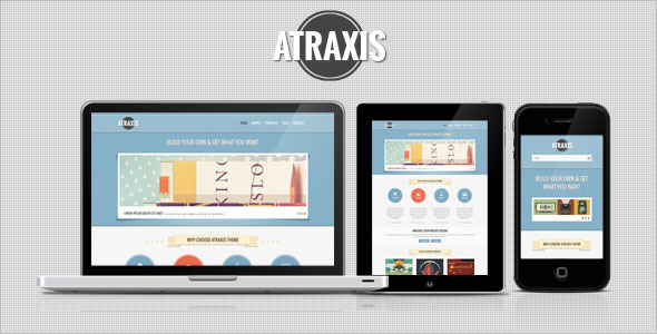 Atraxis - Creative Portfolio HTML Template