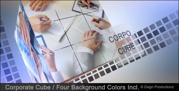 VideoHive Corporate Cube 3488057