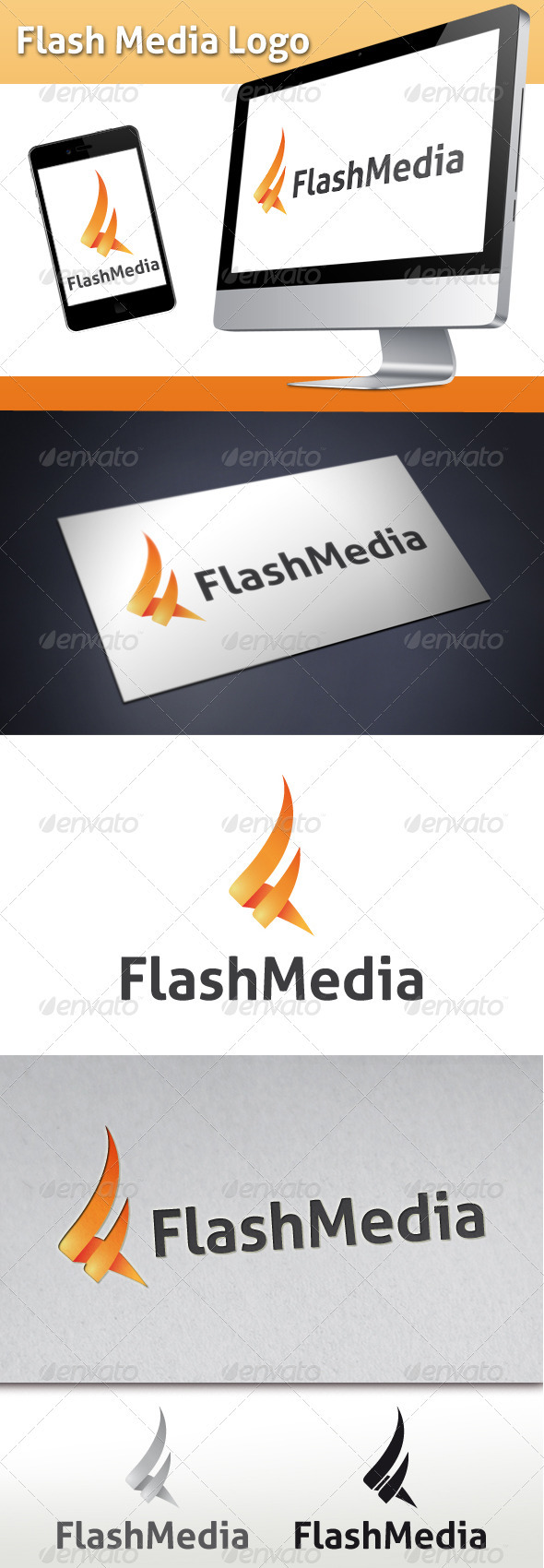 GraphicRiver Flash Media Logo 3483233