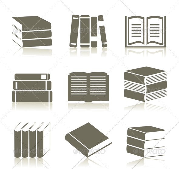 GraphicRiver Book Icons 3488501