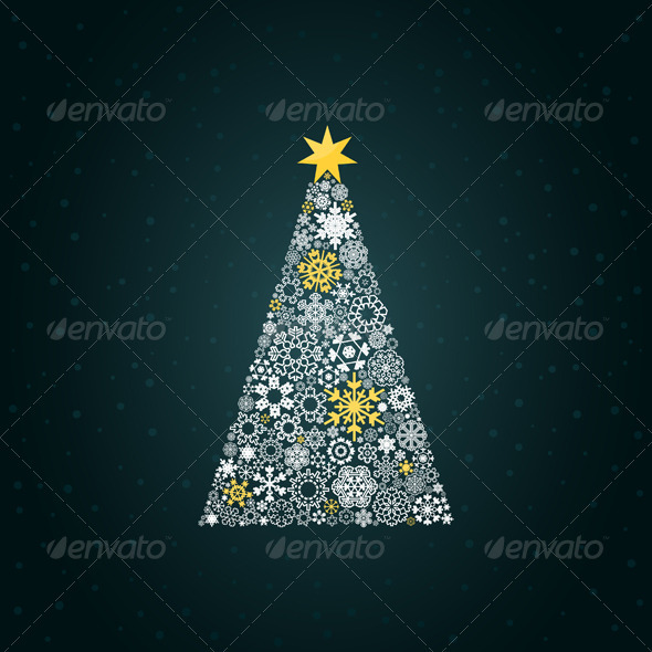 GraphicRiver Christmas Tree 4 3488669