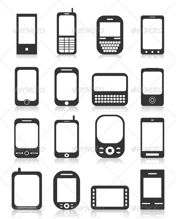 GraphicRiver Phone Icons 4 3488690