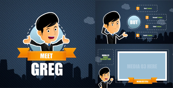VideoHive Corporate Promotion With Greg 3488794