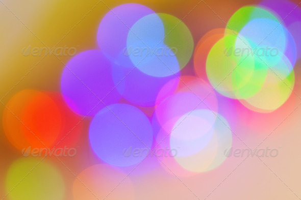 colorful background of  lights - Stock Photo - Images