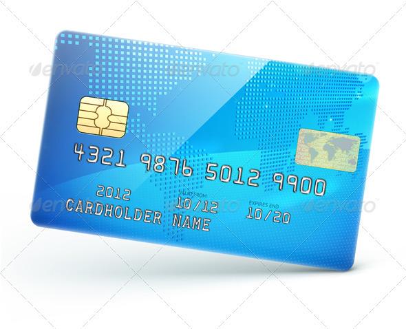 GraphicRiver Credit Card 3490737