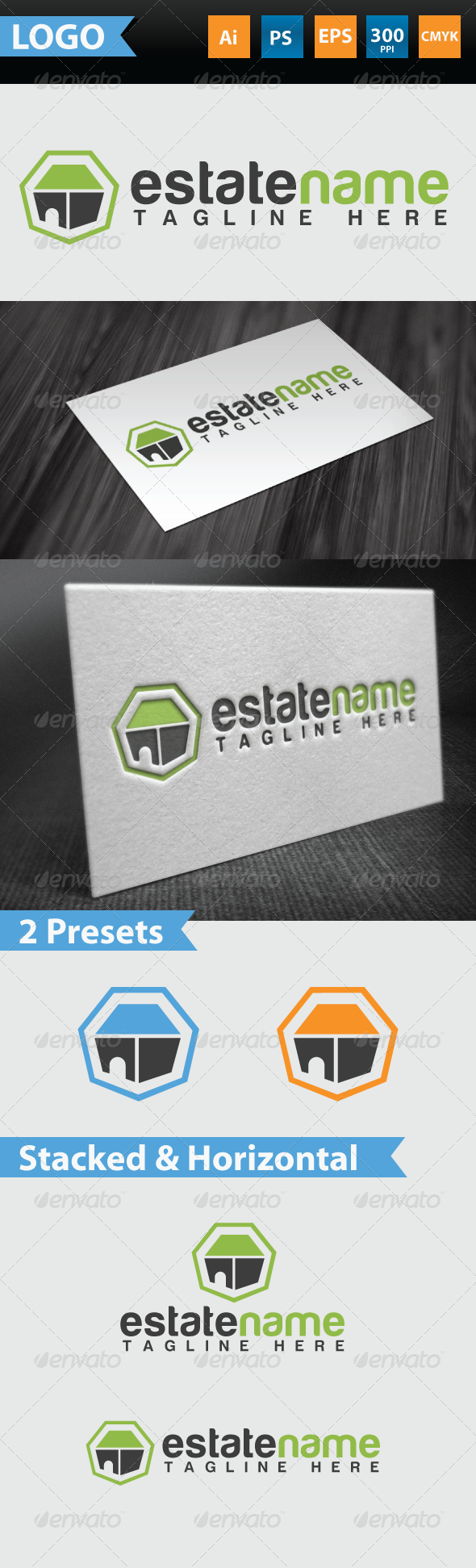 Estate Logo - Buildings Logo Templates