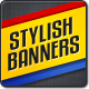 Stylish Web Banners - GraphicRiver Item for Sale