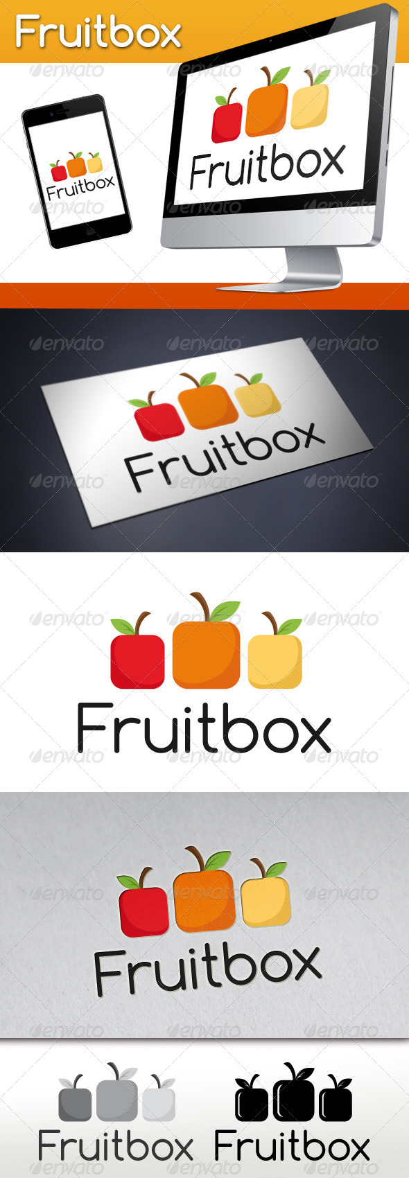 GraphicRiver Fruit Box Logo 3476241
