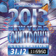 2013 New Year Countdown Party Flyer - GraphicRiver Item for Sale