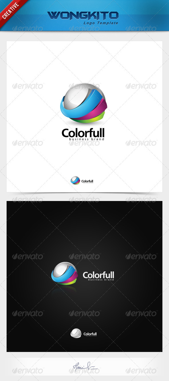 GraphicRiver Colorfull Business Brand 3495688