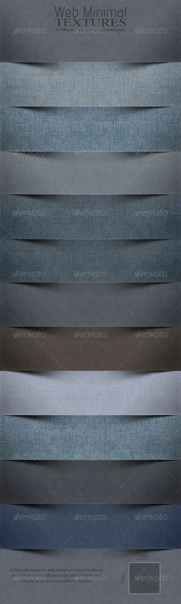 Web Minimal Textures 4.0 - Patterns Backgrounds