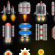 Sprite Sheet For Space Games - GraphicRiver Item for Sale