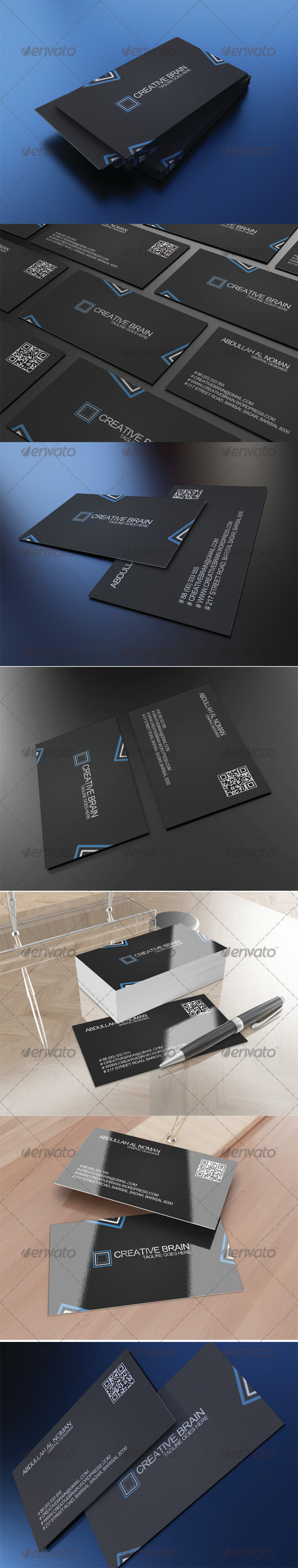 GraphicRiver Corporate Business Card 2 3496850