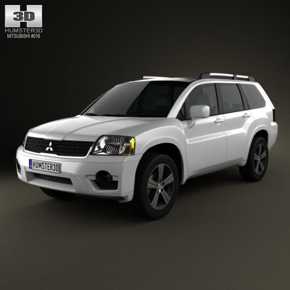3DOcean Mitsubishi Endeavor 2012 3496989