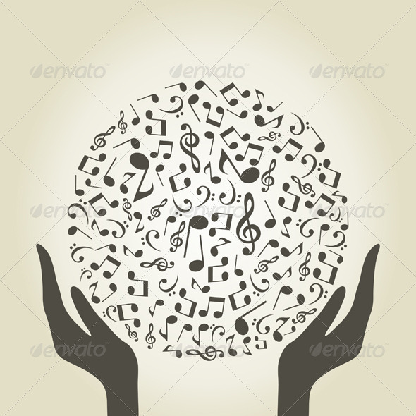 GraphicRiver Music Hands 3497215
