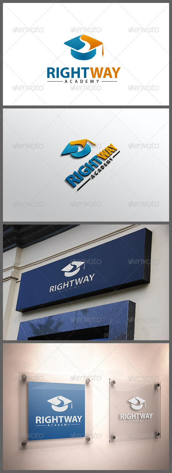 GraphicRiver Right Way Academy 3497328