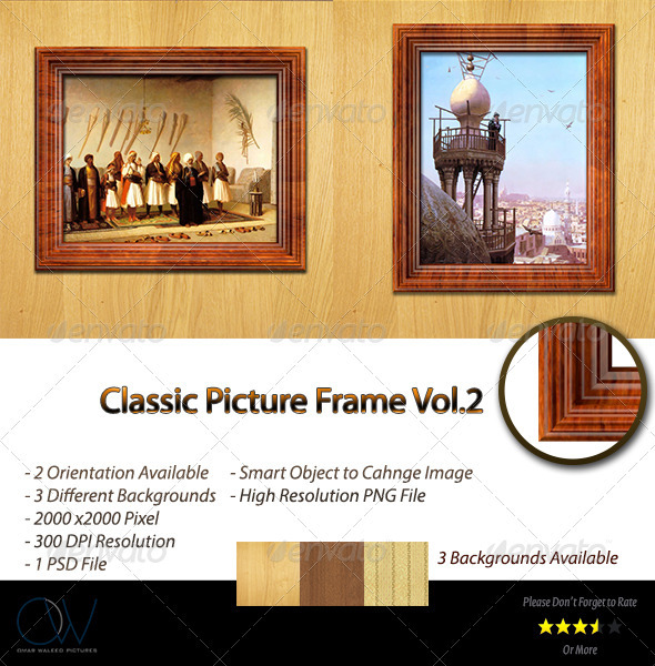 Picture Frame Vol.1 - Photo Templates Graphics