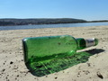 Beer Bottle On The Beach - PhotoDune Item for Sale