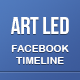 Art Led FB Timeline Cover - GraphicRiver Item for Sale