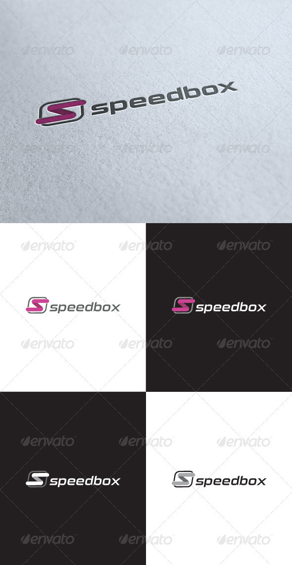 GraphicRiver Speed Box Logo 3498029
