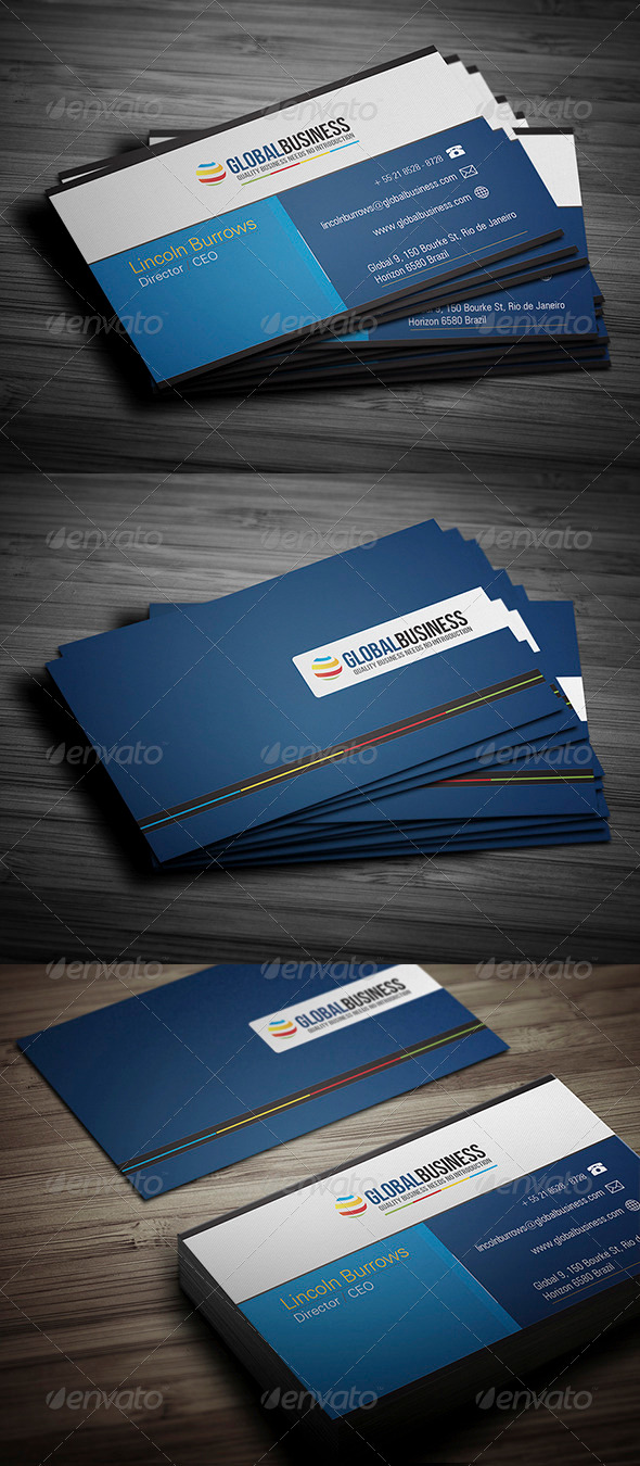 GraphicRiver Corporate Business Card 22 3475056
