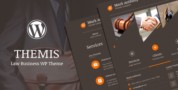 ThemeForest Themis Law Business WordPress Theme 3498596
