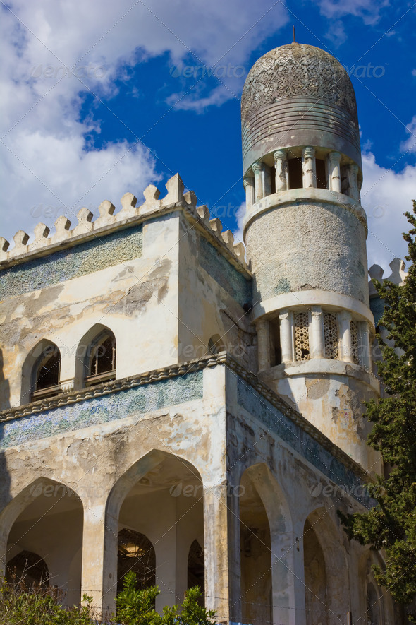 Historic villa Dream in the village of Simeiz, Crimea - Stock Photo - Images