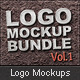 Logo Mockups Vol.1 Bundle - GraphicRiver Item for Sale