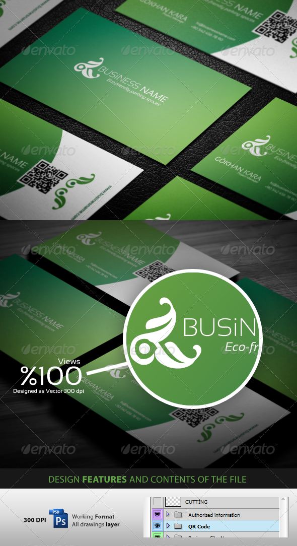 Natural Products - Businees Cardvisit - Corporate Business Cards