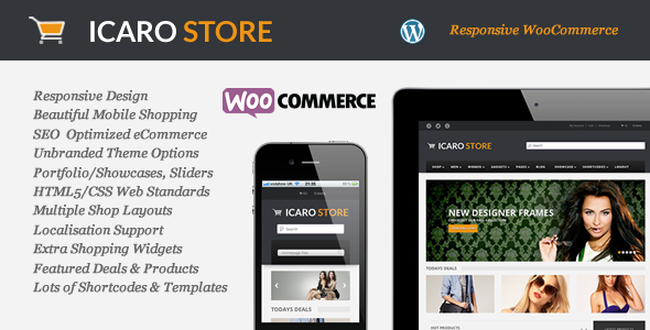 Icarostore - Responsive WooCommerce Theme