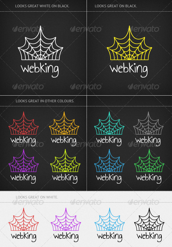 Web King  - Vector Abstract