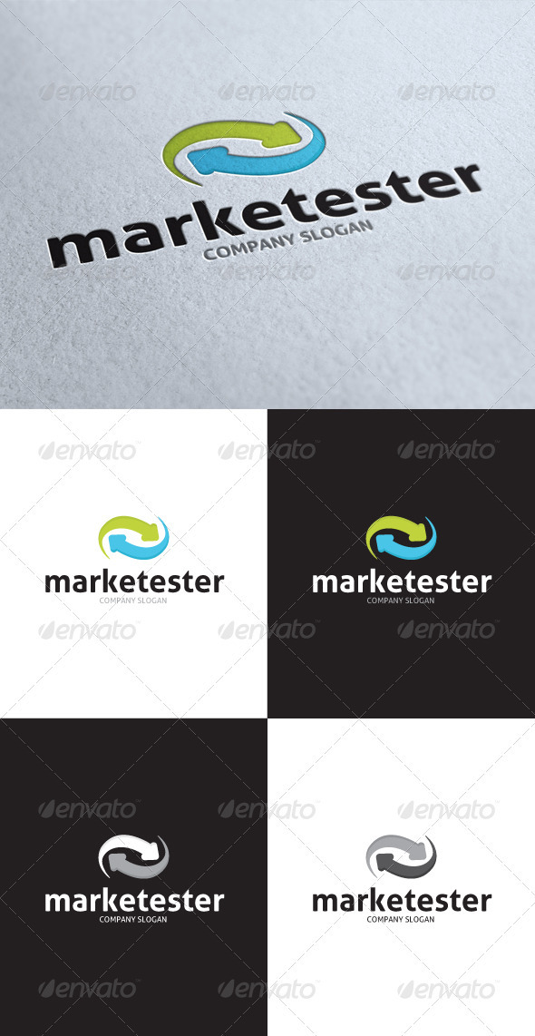 GraphicRiver Marketing Test Logo 3505505