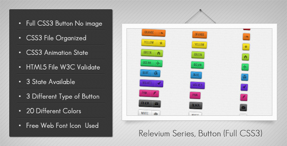 CodeCanyon Relevium Series Button 1677753