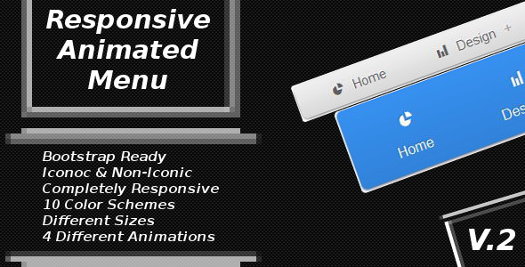 Animated CSS3 Menu - CodeCanyon Item for Sale
