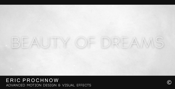 After Effects Project - VideoHive Beauty of Dreams 3195537