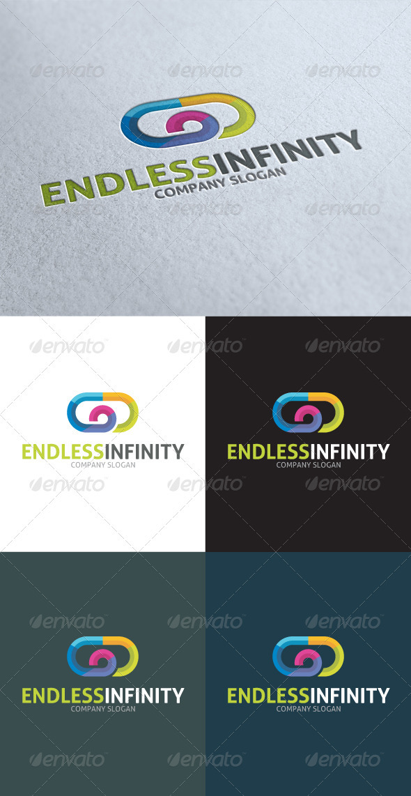 GraphicRiver Endless Infinity Company Logo