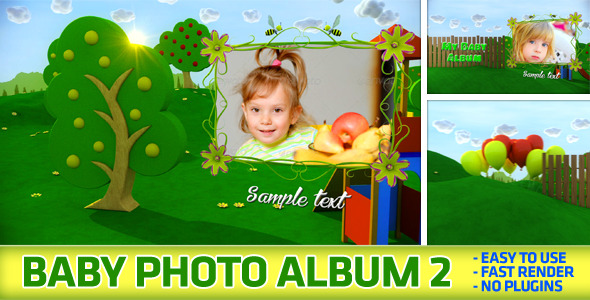 VideoHive Baby Photo Album 2 3509049