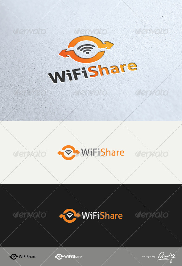 Wifi Share Logo - Symbols Logo Templates