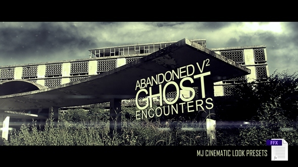VideoHive Abandoned v2 Ghost Adventures 3509365