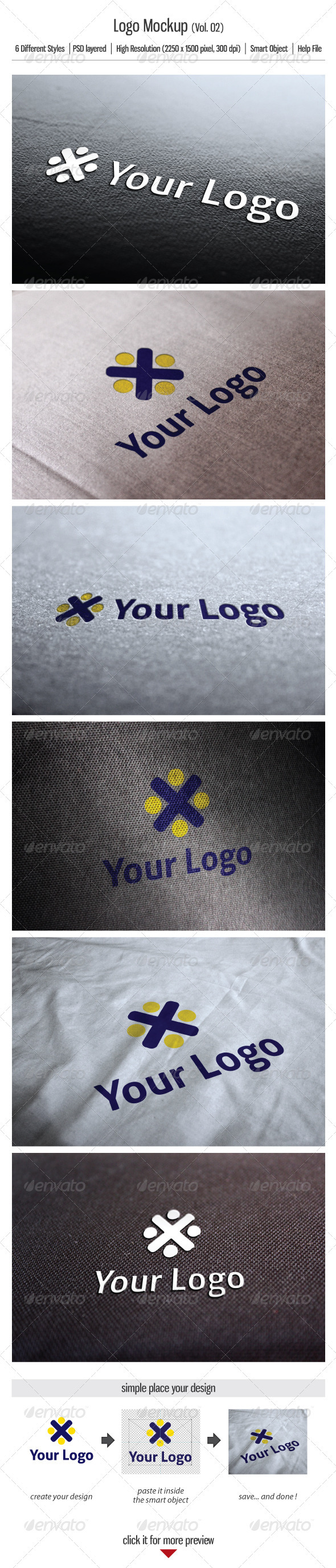 Logo Mockup (Vol.02) - Logo Product Mock-Ups