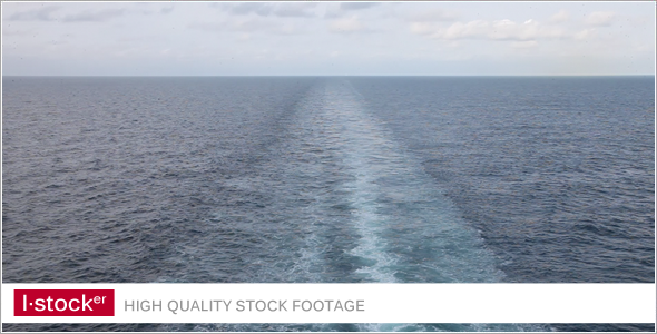 Trail At Sea Surface VideoHive Stock Footage  Holidays 3509472