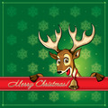 Christmas Deer. Greeting card - PhotoDune Item for Sale