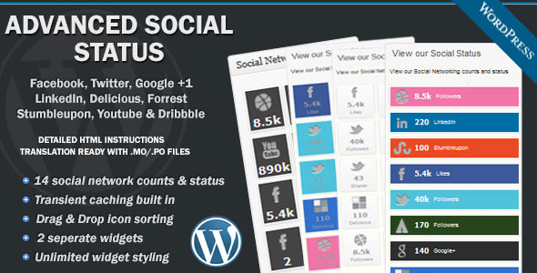 CodeCanyon Advanced Social Status 3509750