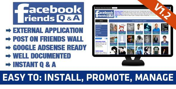 CodeCanyon Facebook Friends Questions & Answers App 2905475