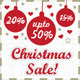 Retro Christmas Sales Banners - GraphicRiver Item for Sale