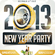 2013 New Years Eve Party Flyer - GraphicRiver Item for Sale