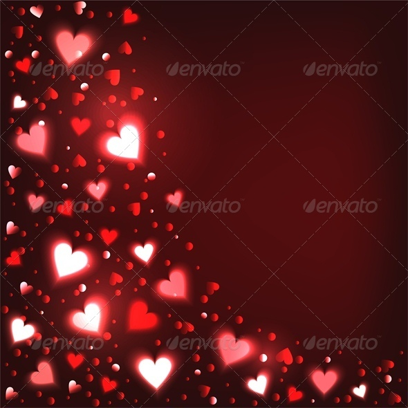 GraphicRiver Shiny Hearts 3513196