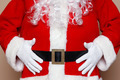 Santa Claus holding his belly - PhotoDune Item for Sale