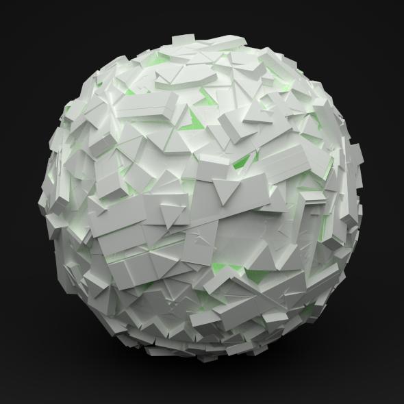 3DOcean White Sphere 3516357